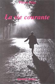 Cover of: La vie courante