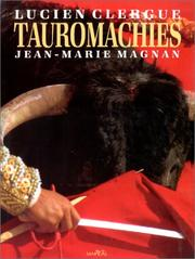 Cover of: Tauromachies