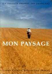 Cover of: Mon paysage