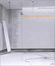 Cover of: Entre centre et absence