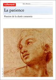 Cover of: La Patience