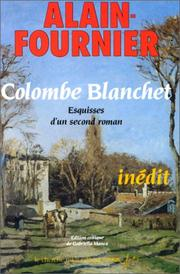 Cover of: Colombe Blanchet