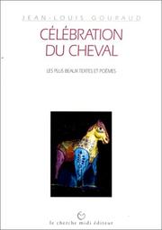 Cover of: Célébration du cheval