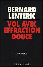 Cover of: Vol avec effraction douce