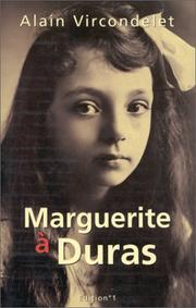 Cover of: Marguerite Duras