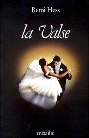 Cover of: La valse