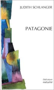 Cover of: Patagonie