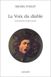 La voix du diable by Michel Poizat