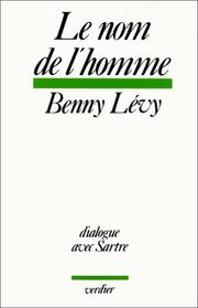 Cover of: Le nom de l'homme
