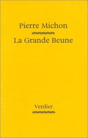 Cover of: La Grande Beune