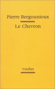 Cover of: Le chevron