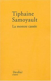 Cover of: La montre cassée