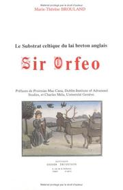 Cover of: Sir Orfeo