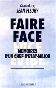 Cover of: Faire face