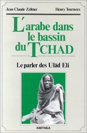Cover of: L' arabe tchadien