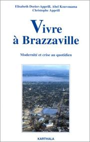 Cover of: Vivre à Brazzaville