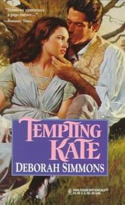 Cover of: Tempting Kate