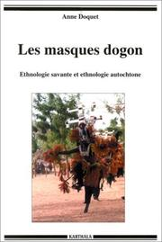 Cover of: Les masques dogon