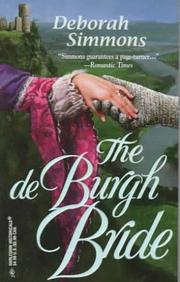 Cover of: The de Burgh bride