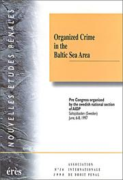 Cover of: Crime by government = | International Congress on Penal Law (25th 1994 Rio de Janeiro, Brazil)