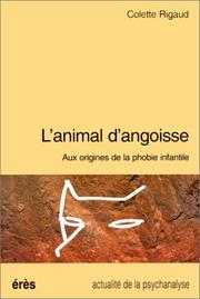 Cover of: L' animal d'angoisse