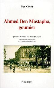 Cover of: Ahmed Ben Mostapha, goumier