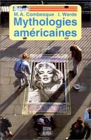 Cover of: Mythologies américaines