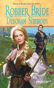 Cover of: Robber bride | Deborah Simmons