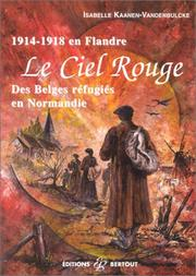 Cover of: Le ciel rouge
