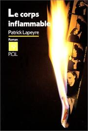 Cover of: Le corps inflammable