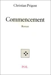 Cover of: Commencement