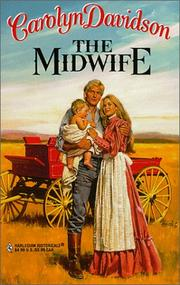 Cover of: The midwife | Carolyn Davidson