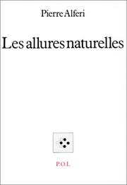 Cover of: Les allures naturelles