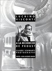 Cover of: Luchino Visconti à la recherche de Proust
