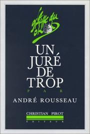 Cover of: Un juré de trop