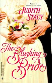 Cover of: Blushing Bride (Historical, 521) by Judith Stacy