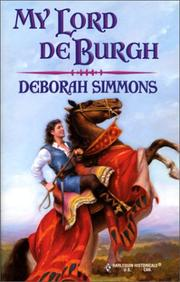 Cover of: My Lord de Burgh