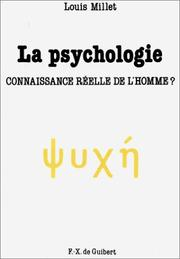 Cover of: La psychologie