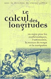 Cover of: Le calcul des longitudes