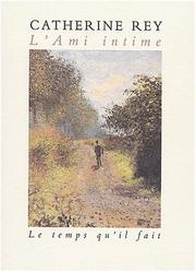 Cover of: L' ami intime