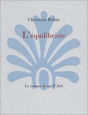 Cover of: L' équilibriste