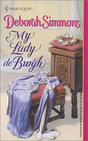 Cover of: My Lady de Burgh