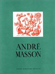 Cover of: André Masson