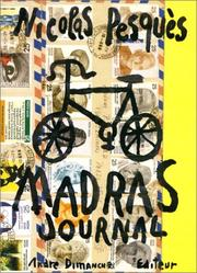 Cover of: Madras, journal