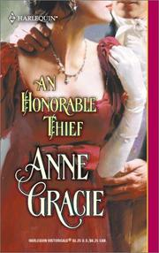 Cover of: An Honorable Thief