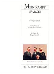 Cover of: Mein Kampf (farce)