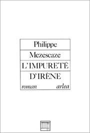 Cover of: L' impureté d'Irène