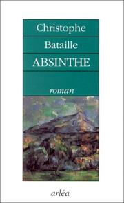 Cover of: Absinthe