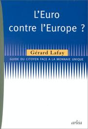 Cover of: L' Euro contre l'Europe