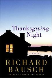 Cover of: Thanksgiving Night: A Novel